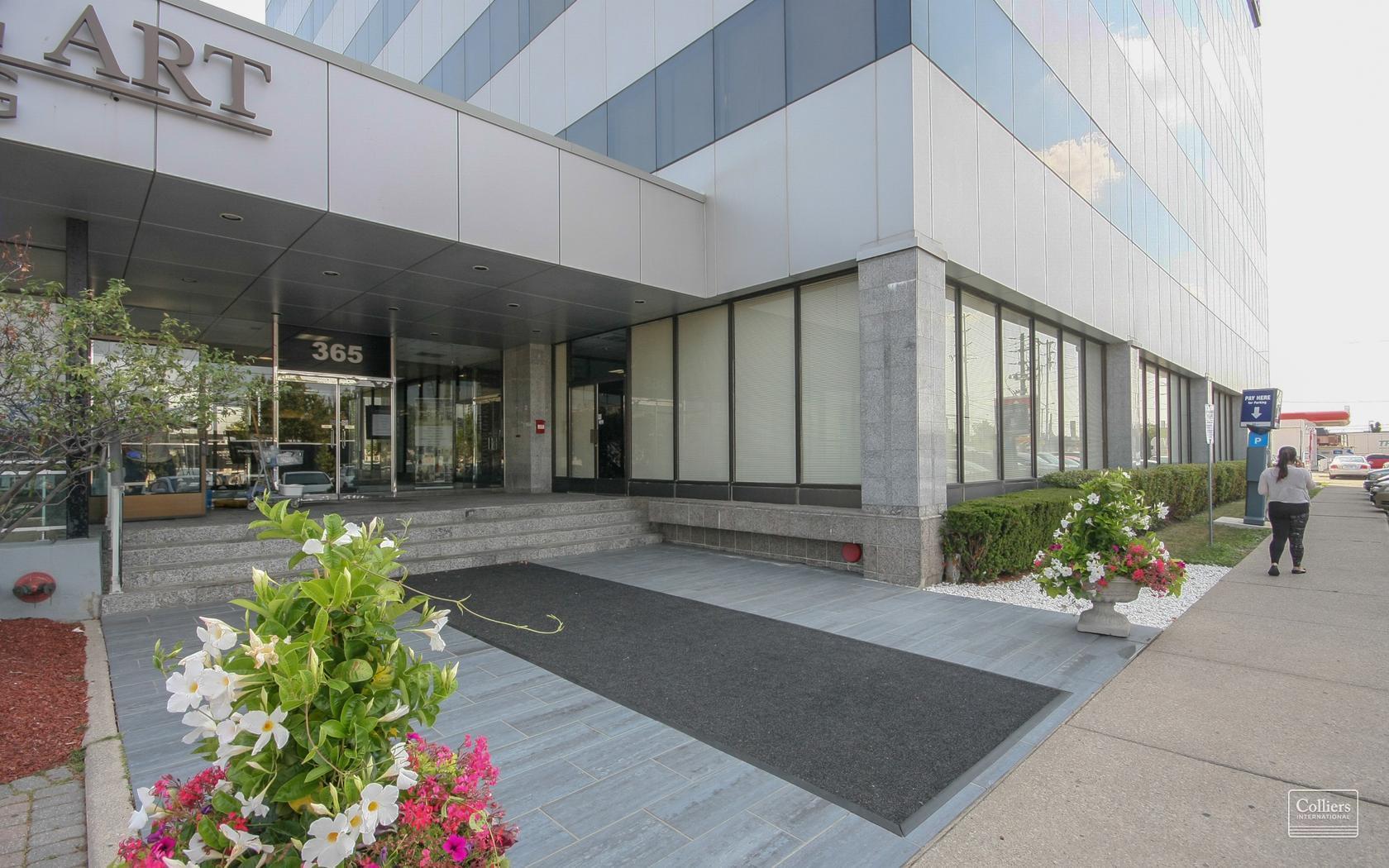 365 Evans Ave Office Entrance