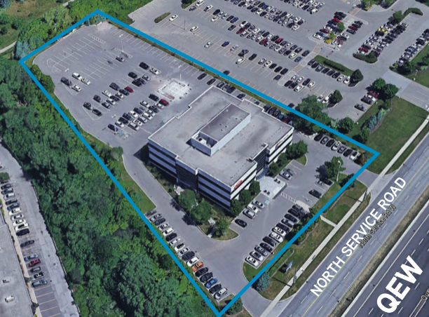 Area Map of 435 North Service Road in Oakville