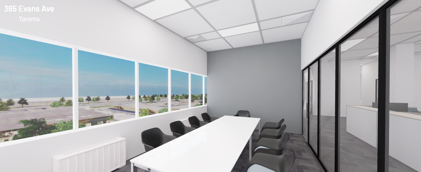 Virtually Built-Out Office Space